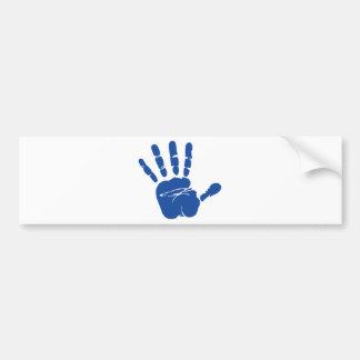 手の印書イメージ バンパーステッカー