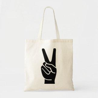 手の平和 トートバッグ