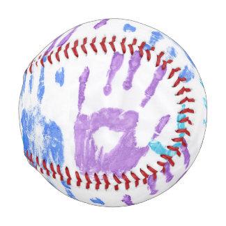 手の習慣の野球 野球ボール
