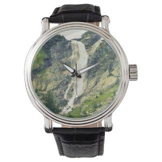 手の腕時計の大自然 腕時計