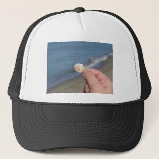 手の貝殻の把握 キャップ