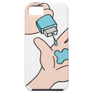手のSanitizer iPhone SE/5/5s ケース