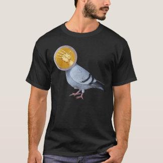 手のTシャツの鳥 Tシャツ