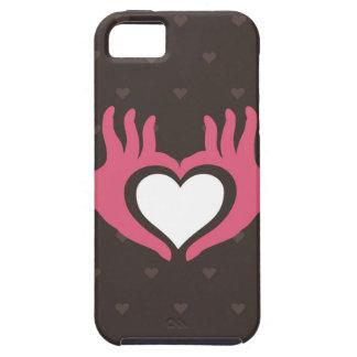 手を愛して下さい iPhone SE/5/5s ケース