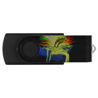 手を搭載する日光のイルカ USBフラッシュドライブ