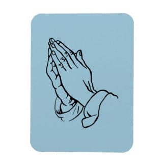手を祈ること マグネット