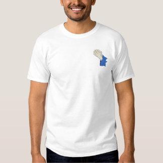 手を祈ること 刺繍入りTシャツ