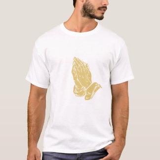手を祈ること Tシャツ