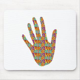 手ハイファイHigh5: 芸術的なパーティーのサービス品のノベルティ マウスパッド
