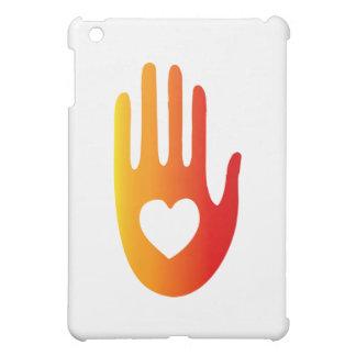 手元のハート iPad MINIカバー