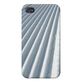 手入れをされた雪 iPhone 4 カバー