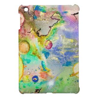 手塗りの銀河系のiPad Miniケース iPad Miniケース