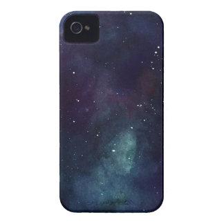 手塗りの銀河系 Case-Mate iPhone 4 ケース