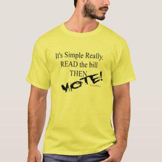 手形を読んで下さい! Tシャツ