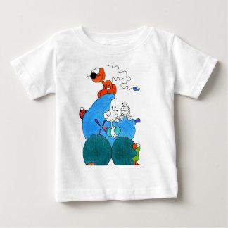 手押車のbabys ベビーTシャツ