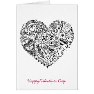 手描きの愛 カード