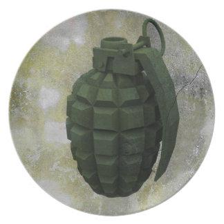 手榴弾 プレート