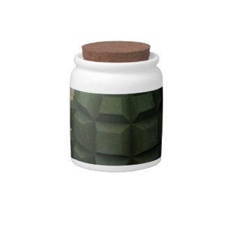 手榴弾 陶器製キャンディジャー