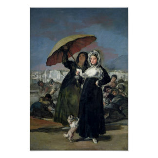 手紙か、若い女性、c.1814-19 ポスター