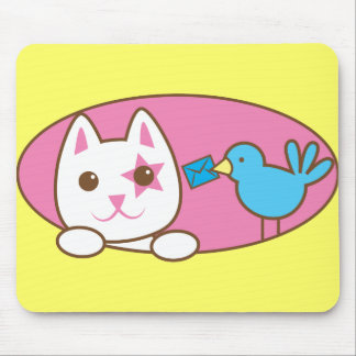 手紙のクルミありがとう マウスパッド