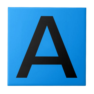 手紙のタイル-青い背景 タイル