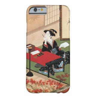 手紙を書く女、手紙、Shunshoを書いている春章の女性 Barely There iPhone 6 ケース