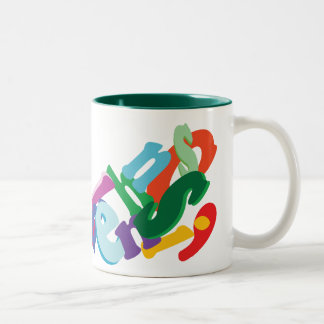 手紙 ツートーンマグカップ