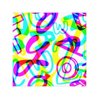 手紙 + 数 キャンバスプリント