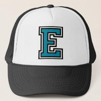 """手紙""""E""""のモノグラム キャップ"""