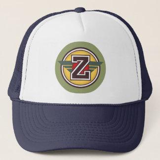 """手紙""""Z"""" Decoのデザイン キャップ"""