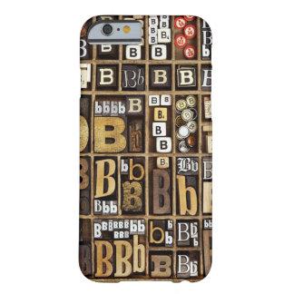 手紙B BARELY THERE iPhone 6 ケース