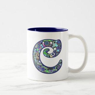 手紙C ツートーンマグカップ