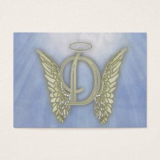 手紙Dの天使のモノグラム 名刺
