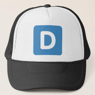 手紙D - emojiのTwitter キャップ