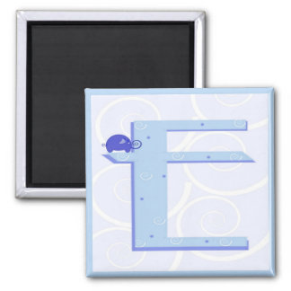 手紙Eの磁石 マグネット