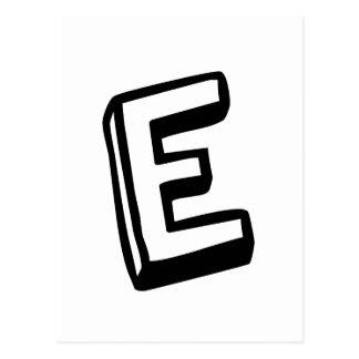 手紙E ポストカード