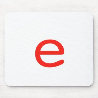 手紙E マウスパッド