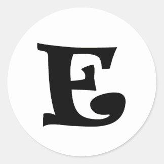 手紙E_large ラウンドシール
