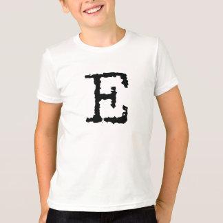 手紙E Tシャツ