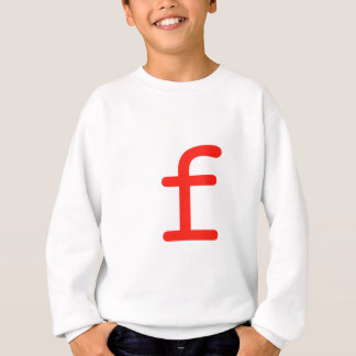 手紙f スウェットシャツ