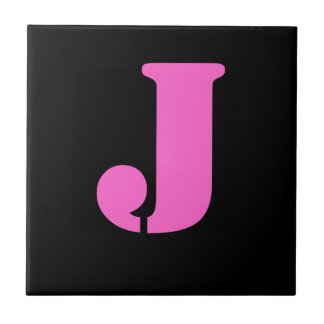 手紙Jのタイル タイル