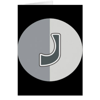 手紙J カード