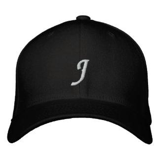 手紙J 刺繍入り帽子