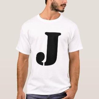 手紙J Tシャツ