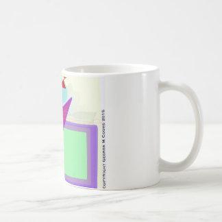 手紙Kのマグ コーヒーマグカップ