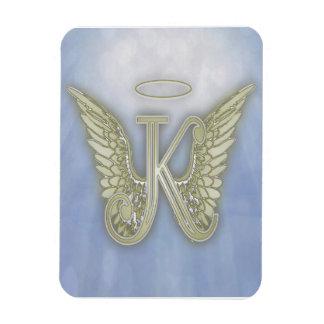 手紙Kの天使のモノグラム マグネット