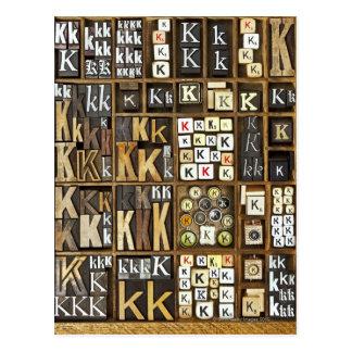 手紙K ポストカード