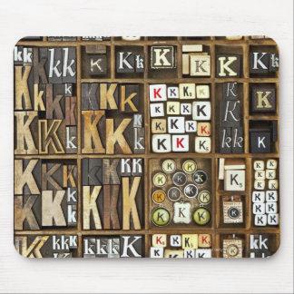 手紙K マウスパッド