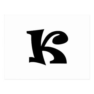 手紙K_large ポストカード