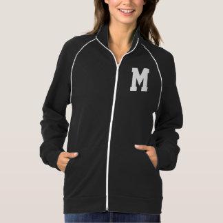 手紙Mのモノグラムの女性ジャケット ジャケット